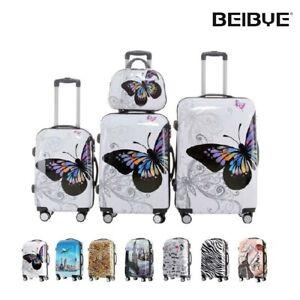 Hartschale 2060 Kofferset Koffer Trolley Reisekoffer SET--XL-L--M-- Beautycase