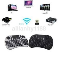 Mini Portable 2.4GHz Wireless Keyboard 92 Keys with Touchpad Mouse Keypad US