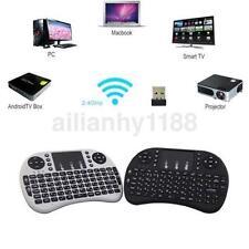 Mini Teclado Inalámbrico Portátil De 2.4GHz 92 teclas con Touchpad Ratón Teclado nos