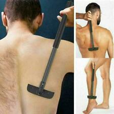 Back Shaver Dry Wet Stretchable Herren Körperpflege Trimmer Removal Razor L J2K8