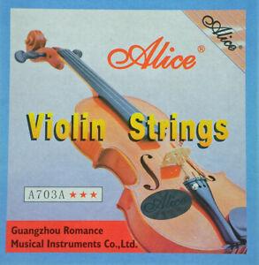 Alice Stahlsaiten Violinensaiten für Violine & Geige …