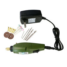 Mini Electric DIY Drill Set 12V DC Grinder Tools for Milling Cutting Polishing