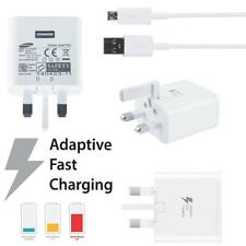 Samsung UK 3 Pin 2 Amp Adaptive Fast Mains Charger Micro USB Data Cable White