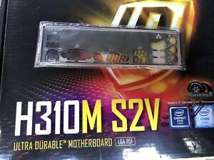 I/O shield backplate for Gigabyte H310M S2V mATX Motherboard