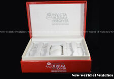 Invicta Sp Ed. Russian Diver Red Single Slot with Straps slot Collector box RARE