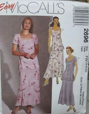 McCall's 2696 Sewing Pattern - Size 18,20,22 - TOP & PULL ON BIAS SKIRT - UNCUT