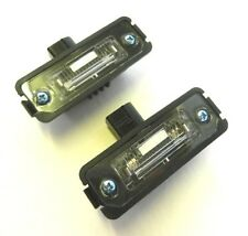 VOLKSWAGEN NEW BEETLE GOLF IV MK4 POLO LUPO - Number Plate Lights Lamps - PAIR