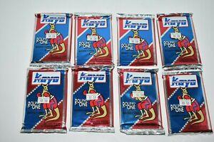 Lot of 8 Kayo 1991-1992 Boxing Card Packs