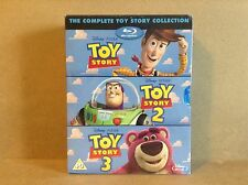 Toy Story 1, 2 and 3 - Triple Pack (Plus Bonus Disc) (Blu-ray) *BRAND NEW*