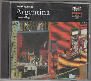 ARGENTINA - musica del mondo CD various artists