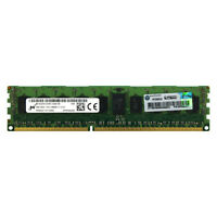 HP Genuine 4GB 1Rx4 PC3-12800R DDR3 1600MHz 1.5V ECC REG RDIMM Server Memory RAM