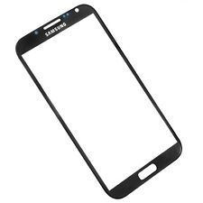 Glass Front Cover Screen Replacement for Samsung Galaxy Note 2 - Black
