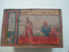 VINTAGE ORIGINAL BOX FOR MARX AMOS AND ANDY