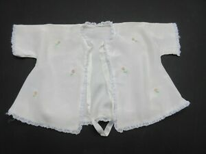 2 vintage white baby matinee jackets dresses see all pics. stage costumes