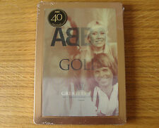 CD Steelbook: Abba Gold : 40th Anniversary 3 CDs Lenticular Magnet Cover Sealed