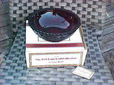 "New in Box AVON THE 1876 CAPE COD COLLECTION RUBY 8 3/4"" SERVING BOWL"