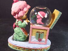 Precious Moments WHITTLE  GIRL & BIRD WATER BALL 1999  New Old Stock