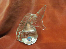 "5 1/4"" Blown Glass Unicorn Paperweight Irice I W Rice"