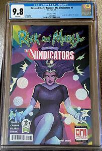Rick and Morty Presents The Vindicators #1 CGC 9.8 ECCC 1ST PICKLE RICK SEE DESC