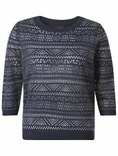 Acrylic Thin Knit Regular Size Jumpers & Cardigans for Women