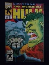 Marvel Comics 1992 #398 THE INCREDIBLE HULK Ghost of the Past Part 2 of 4