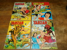 LOT 4 bologna BD TARZAN n°7-8-9-15 editions DEL DUCA PARIS editions mondiales
