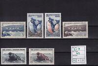 MiNr. 2 - 7   ..  Franz. Geb. i. d. Antarktis ... Postfrisch