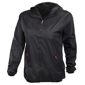 ALPIDEX Damen Regenjacke Jacke Übergangsjacke wasserdicht Größe S M L