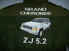 NEU Jeep GRAND CHEROKEE ZJ 5.2 Faan-Jacke olivgrün jacket veste jas giacca jakka