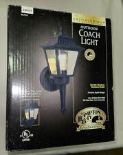 Hampton Bay Exterior Coach Lantern Outdoor Porch Light Black #240-177