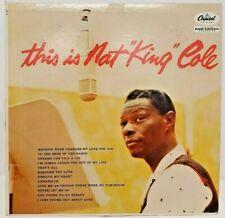 This is Nat King Cole LP Capitol T870 Vintage 50s Mid Century Record Album 1958