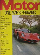 Motor magazine 4/9/1971 featuring Morris Marina, Wolseley, Ferrari