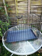 Used small dog cage or puppy training
