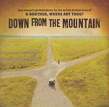 DOWN FROM THE MOUNTAIN - CD - Artists & Musicians of: O BROTHER, WHERE ART THOU?