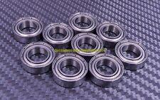 [QTY 5] S6802zz 6802zz (15x24x5 mm) 440C Stainless Steel Ball Bearing Bearings