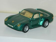 Maisto Diecast Toy Vehicle Car Green Porsche 959 1;36