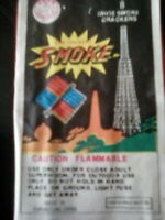5 X Vintage Firecrackers labels horse brand SMOKE CRACKERS complete LABELS