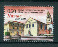 Bosnia & Herzegovina 2017 MNH Franciscan Monastery at Humac 1v Set Stamps