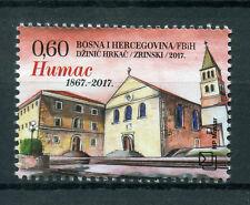 Bosnia & Herzegovina 2017 MNH Franciscan Monastery at Humac 1v Set Stamps