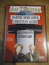 DVD * LES ENFANTS D'EDOUARD * SAUVAJON MOREAU MERCADIER ALERS AU Theatre
