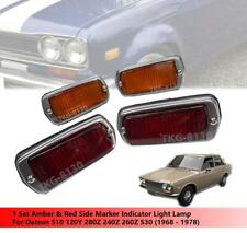 1 Set Side Maker Indicator Light Use Datsun 510 120Y 280Z 240Z 260Z 1968-1978