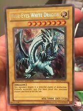 Yugioh - Blue-Eyes White Dragon Secret rare FL1-En001 Limited LP