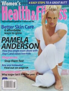 Pamela Anderson WOMEN'S HEALTH & FITNESS magazine October / November 2002