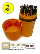 Norseman SP29PON Magnum Super Premium Drill Bit Set Black & Gold 29Piece 44190