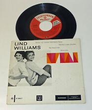 "Gitta Lind & Christa Williams ""Lind / Williams"" D 1959 Club 7"" PS EP Telefunken"