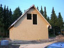 Holzrahmenhaus Rohbau Bausatz Selbstmontage Fertighaus 7,00 x 10,00 Meter