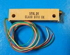 """CLAROSTAT 370L-2K 2K Ohm 1-1/4"""" Rectangular Trimming POT, 5pcs"""