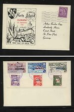 Great  Britain   Herm  Island  cover   cachet               MS0623