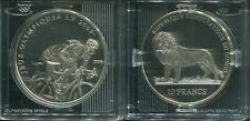CONGO 2006 - 10 Francs in Silber, PP - OLYMPIA Beijing 2008 Radfahren