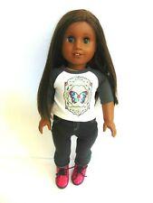 Custom American Girl Doll Truly Me JLY Green &  Blue Eyes Heterochromia